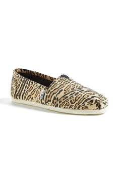 TOMS 'Classic - Ocelot' Slip-On (Women) available at #Nordstrom