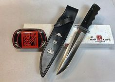 Vintage 1980' Rare Al Mar USASF LE James N.Rowe SF/SOG Dagger Knife Box Mint | eBay