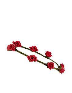 Red Flower Bando