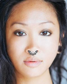 Septum Ring - Sterling Silver Nose Ring - Moroccan Septum Ring
