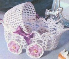 como hacer baberitos al crochet para suvenir - Buscar con Google