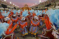 Carnival festival in Rio de Janeiro.
