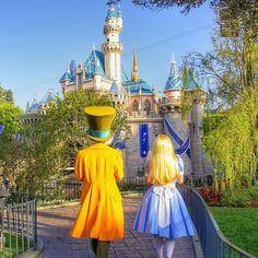 """If I had a world of my own, everything would be nonsense."" #AliceInWonderland #MadHatter #Disneyland (@princessheimlich)"