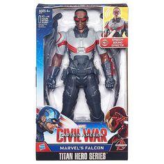 NEW Marvel Titan Hero Series Marvel's Falcon Electronic Figure