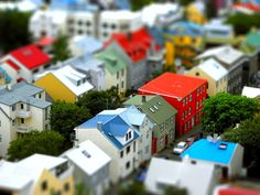 Colourfull Street #tiltshift #photography