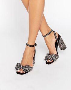 ASOS HEAVEN SENT Heeled Sandals - Multi
