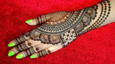 #hennatattookit #hennaart Back hand beautiful henna design - Simple and easy mehndi designs for hands