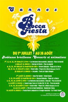 Ambiance brésilienne pour les Nocturnes boccassiennes - Mairie de Cannes