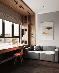 Room Design Bedroom, Home Room Design, Kids Room Design, Home Office Design, Interior Architecture, Interior Design, Small Room Design, Home Office Setup, Apartment Interior