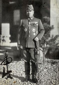 """Gen. Tomoyuki Yamashita (November 8, 1885 - February 23, 1946) The """"Tiger of…"""