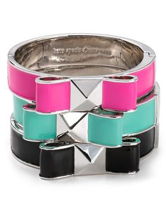 kate spade new york Exclusive Bow Turnlock Bangle | Bloomingdale's