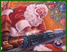 Lionel Train~that is when I received my train santa brought me my train ~