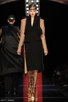 Paris Couture Fashion Week: Jean Paul Gaultier Fall 2012 Couture