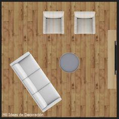 15 formas de distribuir los muebles en un salón cuadrado Diy, Ideas, Shapes, Home, Bricolage, Handyman Projects, Do It Yourself, Thoughts, Diys