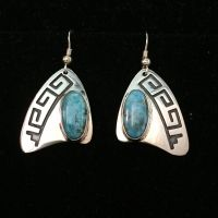 Earrings - National Cowboy Museum - Geometric Teller Earrings