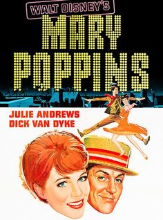 Mary Poppins - 1964 Disney Songs, Disney Films, Love Movie, I Movie, Julie Andrews Movies, Mary Poppins 1964, Walt Disney Records, Singing Career, Movie Props