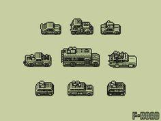 Cars for #gbjam game