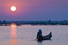 Lac Tonle Sap - Village de Chong Khneas - Province de Siem Reap - Cambodge © Marc Dozier