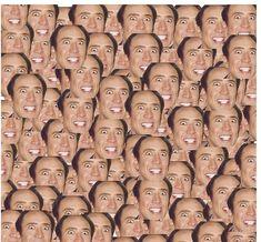 CAGECEPTION - Nicolas Cage faces meme , leggigns, pillow, t-shirt