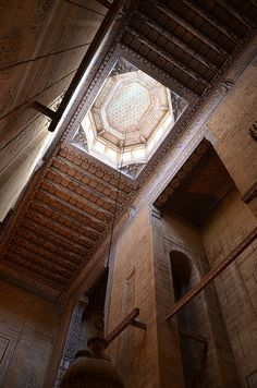 Sultan Hassan Masjid (Islamic Architecture; Cairo (?), Egypt) #Arabesque #Arabic…