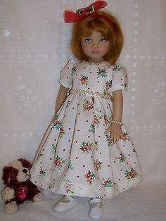 """ Pearls and Roses "" for Effner 13"" Little Darling Doll 