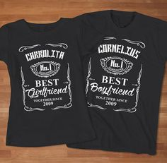 acc4615c2a Funny Parody Jack Daniels Couple TShirt by Sarimbittees on Etsy, $39.00