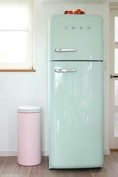 4 Easy Ways to Add Modern Retro Charm to Your Home is part of Green home decor - Love Modern Retro decor Look no further! Check out 4 easy ways to add Modern Retro charm to your home today from color, furniture, decor and Green Home Decor, Retro Home Decor, Pastel Home Decor, Pastel Kitchen Decor, Mint Decor, Casa Color Pastel, Pastel Colors, Pastel Mint, Colours