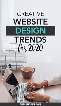 Website design trends for 2020 (+ trendy Wordpress themes to use!) - Website design trends for 2020 (+ trendy WordPress themes included!): what will be the most importa - Website Design Inspiration, Best Website Design, Site Web Design, Wordpress Website Design, Web Design Tips, Graphic Design Tips, Web Design Trends, Design Ideas, Website Designs