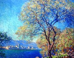 Antibes Seen From La Salis, 1888 -Claude Monet