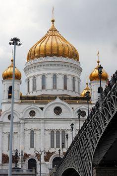 Igreja, Dourado, Cúpula, Rússia, Moscou
