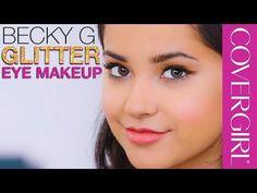 Becky G's Gold Glitter Eye Makeup Tips | COVERGIRL - http://47beauty.com/becky-gs-gold-glitter-eye-makeup-tips-covergirl/