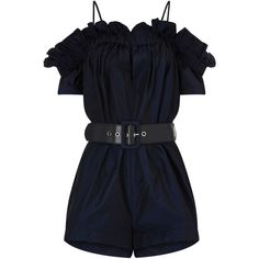 Alice McCall Midnight Dream About Me Playsuit ($355) ❤ liked on Polyvore featuring jumpsuits, rompers, jumpsuit, dresses, playsuits, blue jumpsuit, playsuit jumpsuit, blue romper, playsuit romper and blue rompers