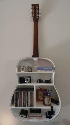 Prateleira guitarra