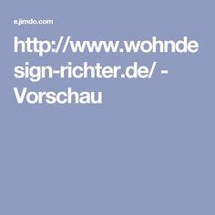 http://www.wohndesign-richter.de/ - Vorschau