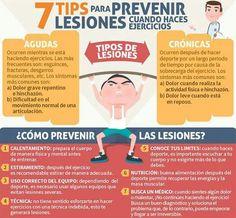 7 tips para prevenir lesiones durante el ejercicio
