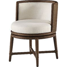 Barbara Barry Canyon Swivel Dining Chair