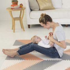 Stylish Foam Play Mats for Babies