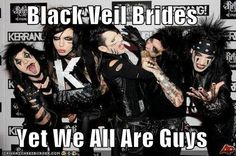 black veil brides funny pictures - Google Search
