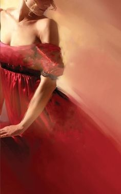 ...donna in rosso