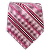 Stripe Tooth - Fuchsia from TheTieBar.com - Wear Your Good Tie Everyday @Mechelle Bill
