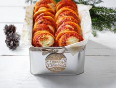 Le nostre soffici pizzette pronte per i vostri aperitivi natalizi