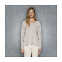 Club Monaco Maddie Cashmere Sweater - Light Heather Gray