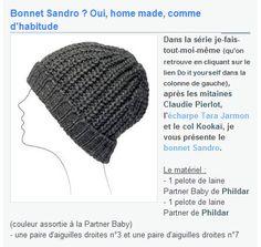 modele tricot bonnet 3 mois