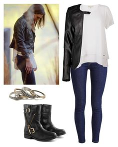 Hayley Marshall 2x01 - the originals by shadyannon on Polyvore featuring Michael Kors, Boohoo, Levi's, Borger Shoes and With Love From CA
