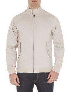 e9fd6025 New Cotton Harrington Harrington Jacket, Ben Sherman, Uk Fashion, Core,  Men's Wardrobe