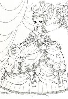 Japanese Shoujo Coloring Book 1 - Mama Mia - Picasa Web Albums