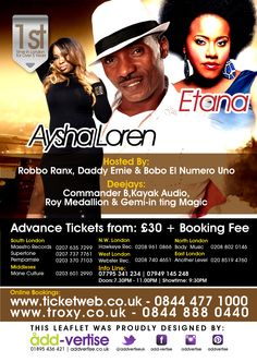 Ticket and venue details for the 19th of Oct 2014 @magneticenergy1