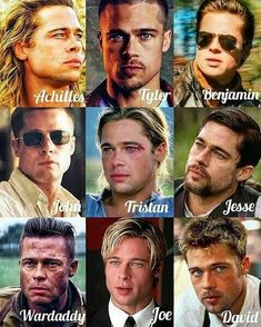 Yes yes yes Brad❤ Brad Pitt And Jennifer, Brad Pitt Troy, Young Brad Pitt, Brad Pitt Haircut, Bratt Pitt, Brad Pitt And Angelina Jolie, Kris Kristofferson, Celebrity Moms, Celebrity Photos