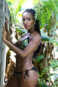 Black erotic caribbean island models