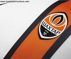 Shakhtar Donetsk 12/13 nike away football shirt